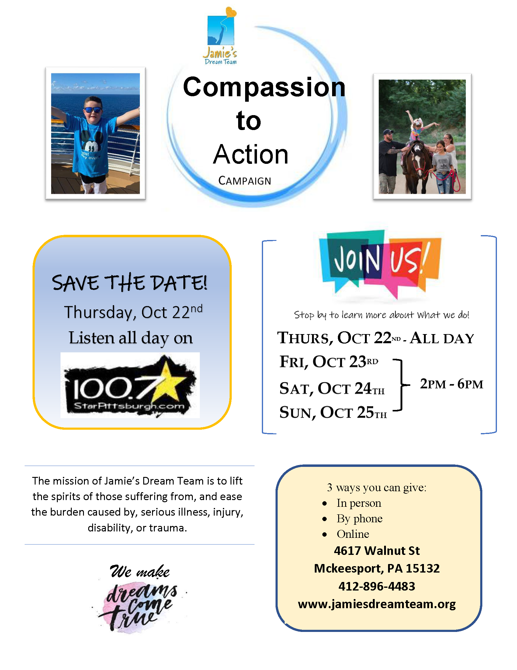Compassion to Action Campaign